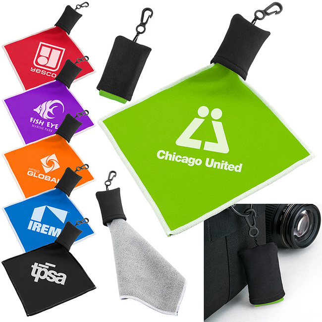 Between our phones, computers and TVs, we spend a lot of time looking at screens. And keeping these devices clean is a tough job. Make it easier with this handy microfiber cloth.