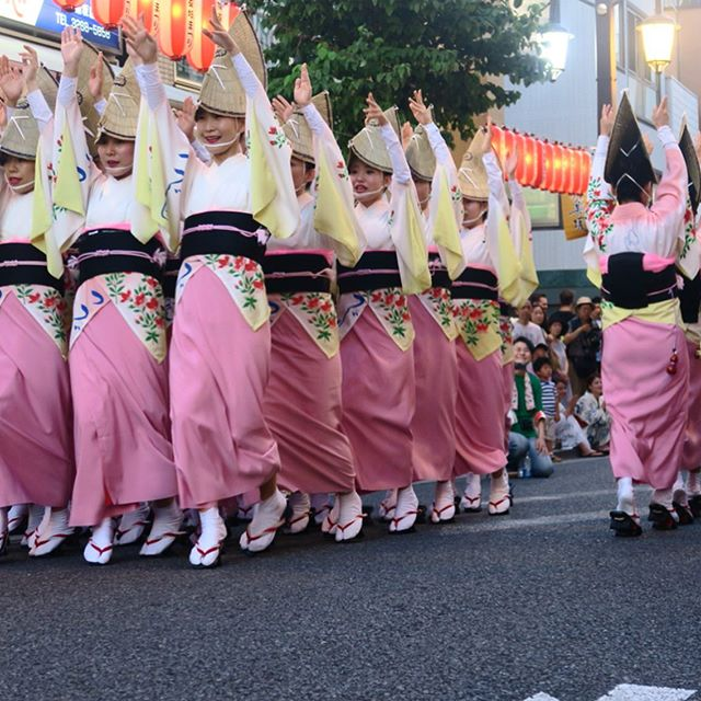 If you have some free time this weekend in Tokyo, then head over to the Kōenji Awa Odori festival! 踊り (odori) means 'dance', and this procession is filled with fun routines and beautiful yukatas. It starts at 5pm, but head down a little earlier to get some かき氷 (shaved ice 🍧) and front row seats along the pavement. ・ ・ ・ ・ ・ ・ ・ #awaodori #dance #koenjiawaodori #koenji #tokyo #summer #japanesefestival #japanesesummerfestival #japanesesummer #japantourism #awadance #阿波踊り #高円寺 #高円寺阿波踊り #東京 #観光 #夏 #夏の祭り #祭り #日本の夏 #翻訳 #翻訳家 #英訳 #translation #translator #japanesetranslation #japanesewords