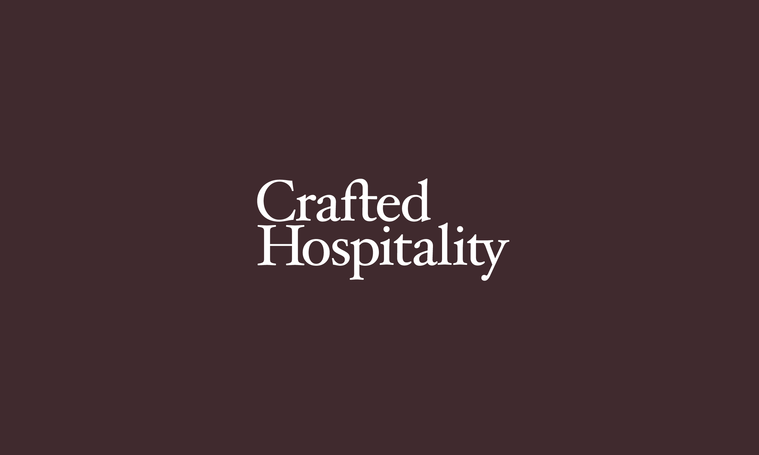 Crafted Hospitality / Restaurant Corp.