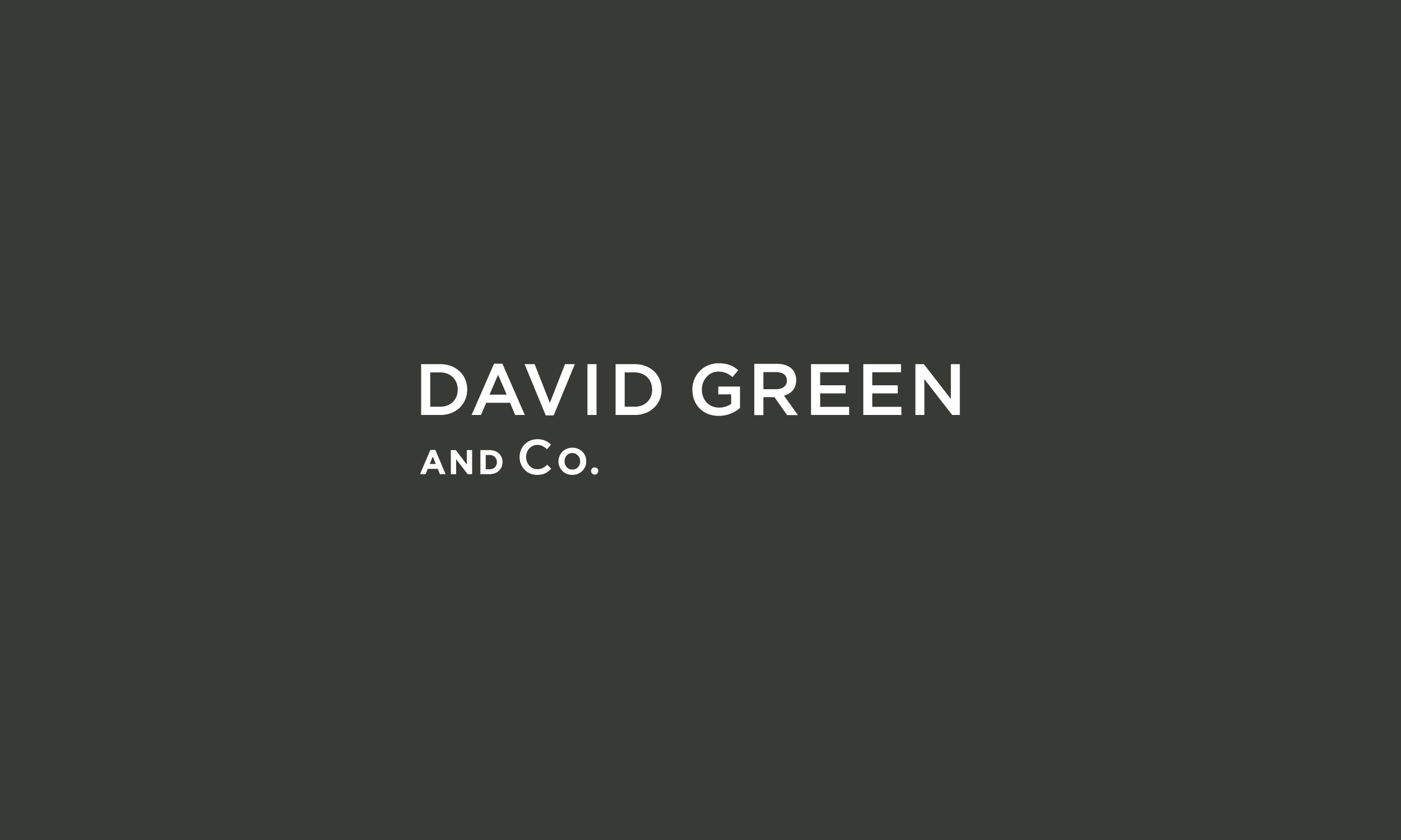 David Green and Co. / Wine Consultant