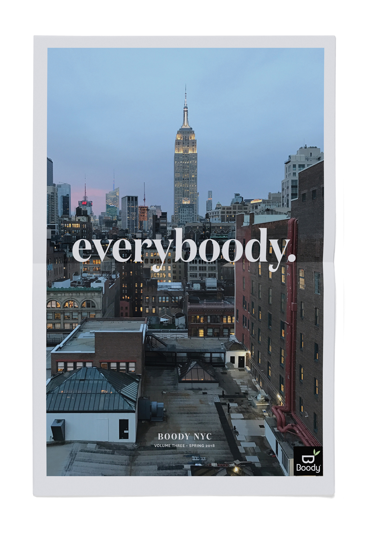 Look Book - Front Cover / 24 page newsprint