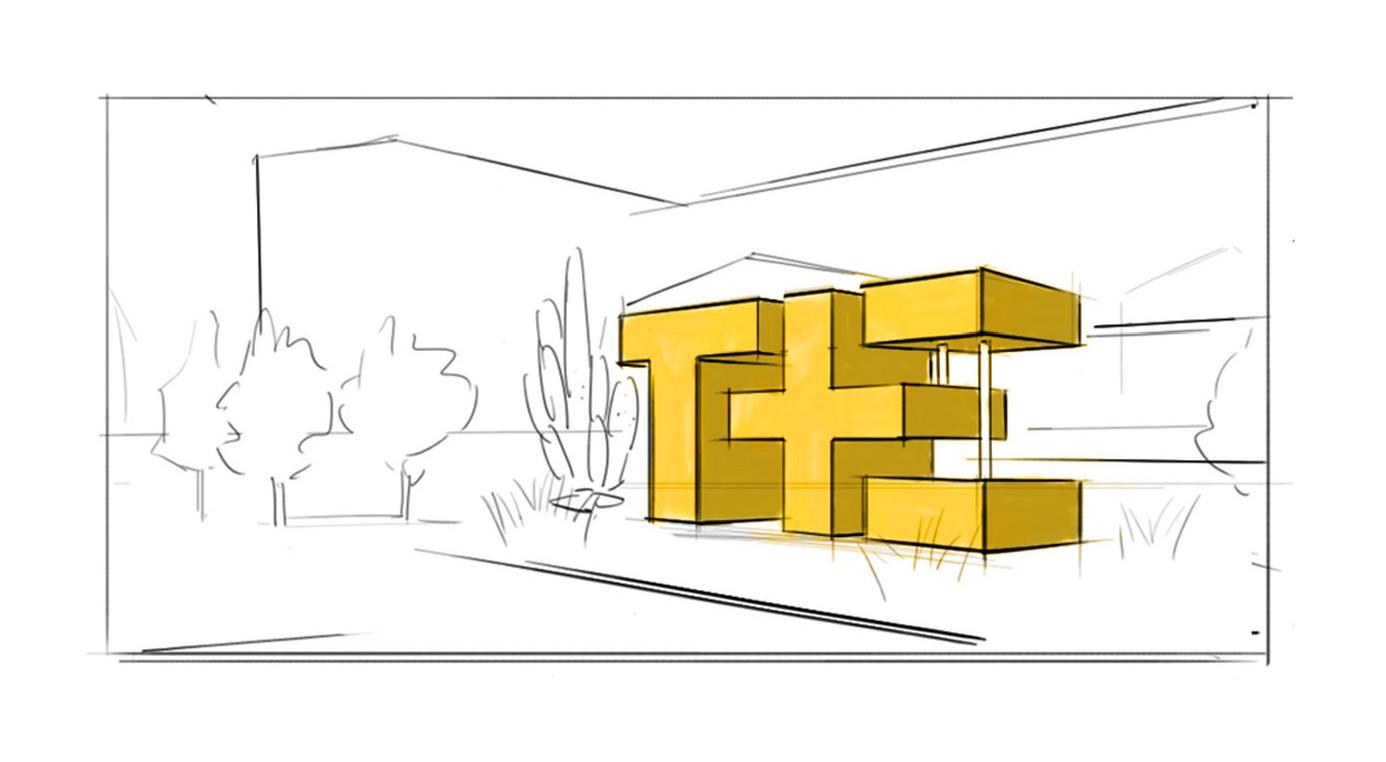 Environmental Design Sketches