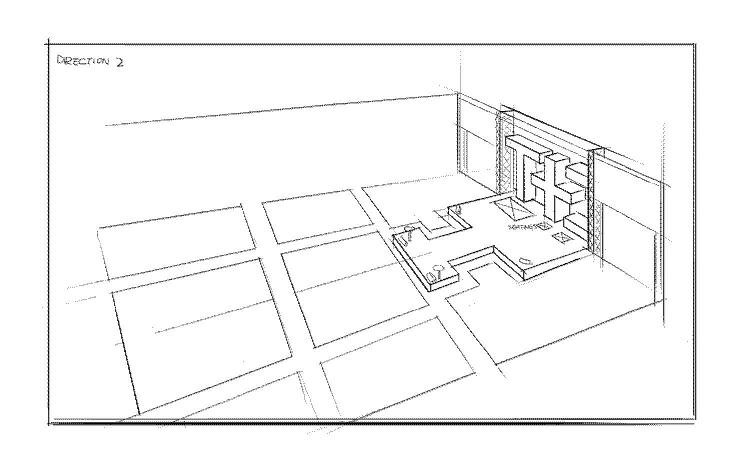 Stage Design Sketch