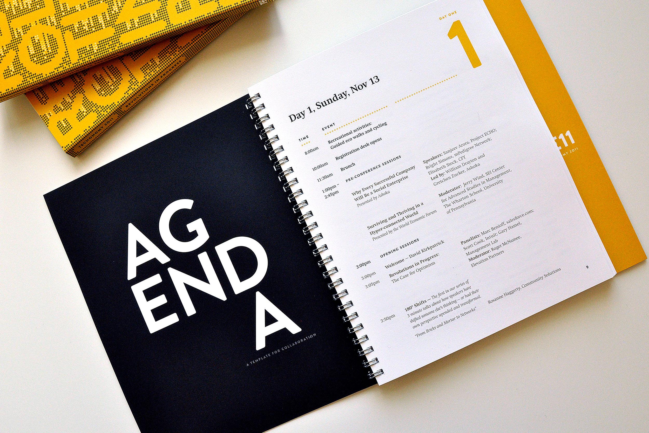 Print Collateral - Agenda