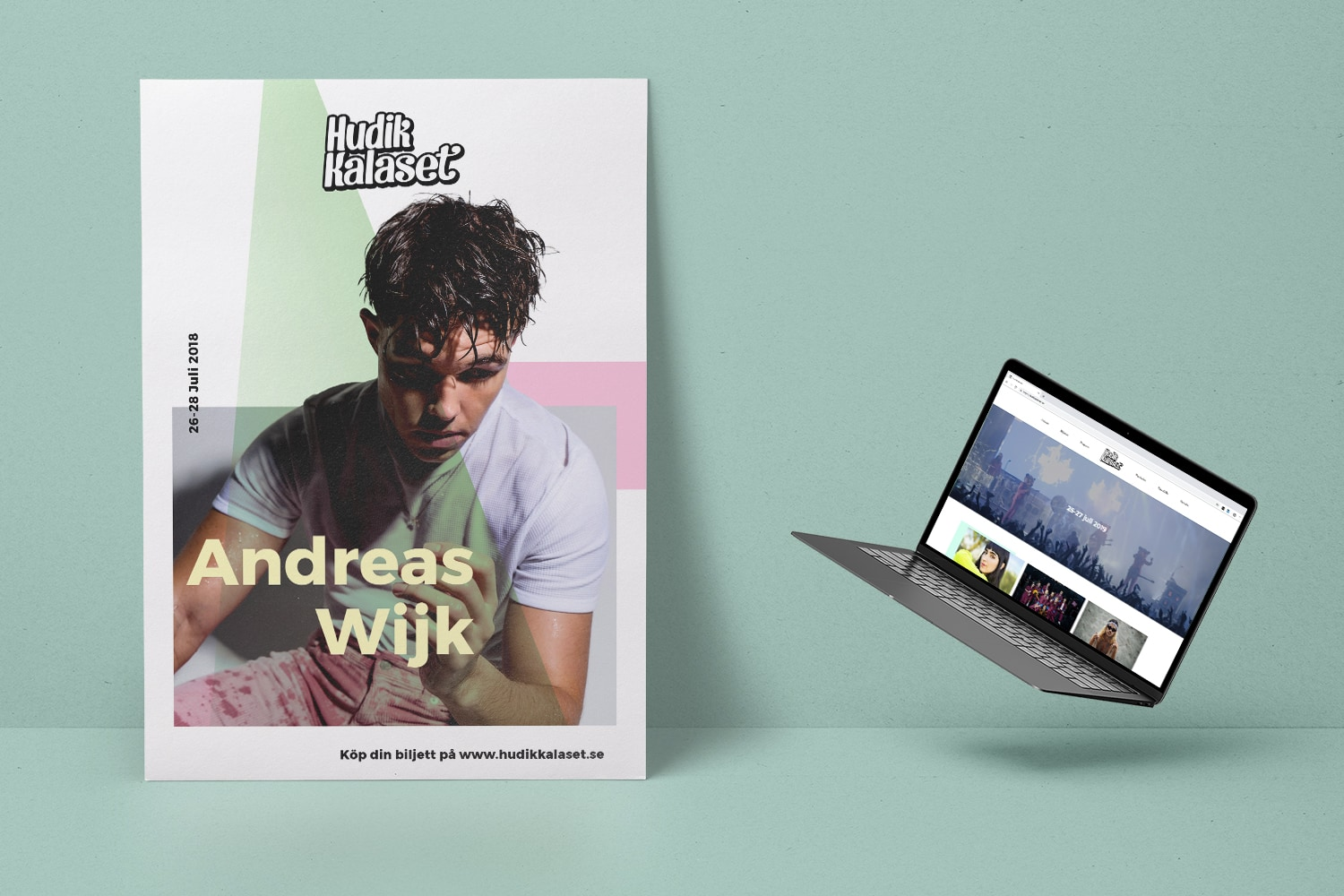 Hudikkalaset: Brand Identity + Website - Creative Direction, Art Direction, Design, Web Design