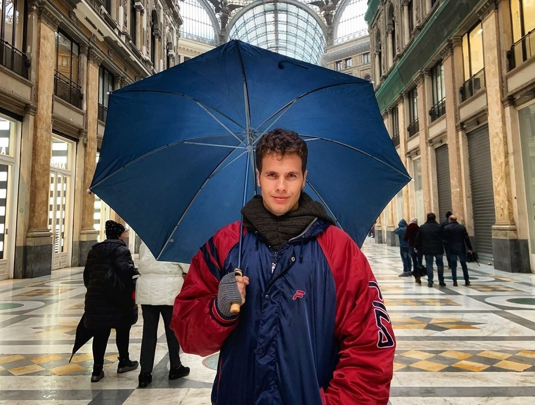 1) ITALY - Born in Naples in the south of Italy, Andrea created this blog to share info and stories about his biggest passions, travels and yoga.