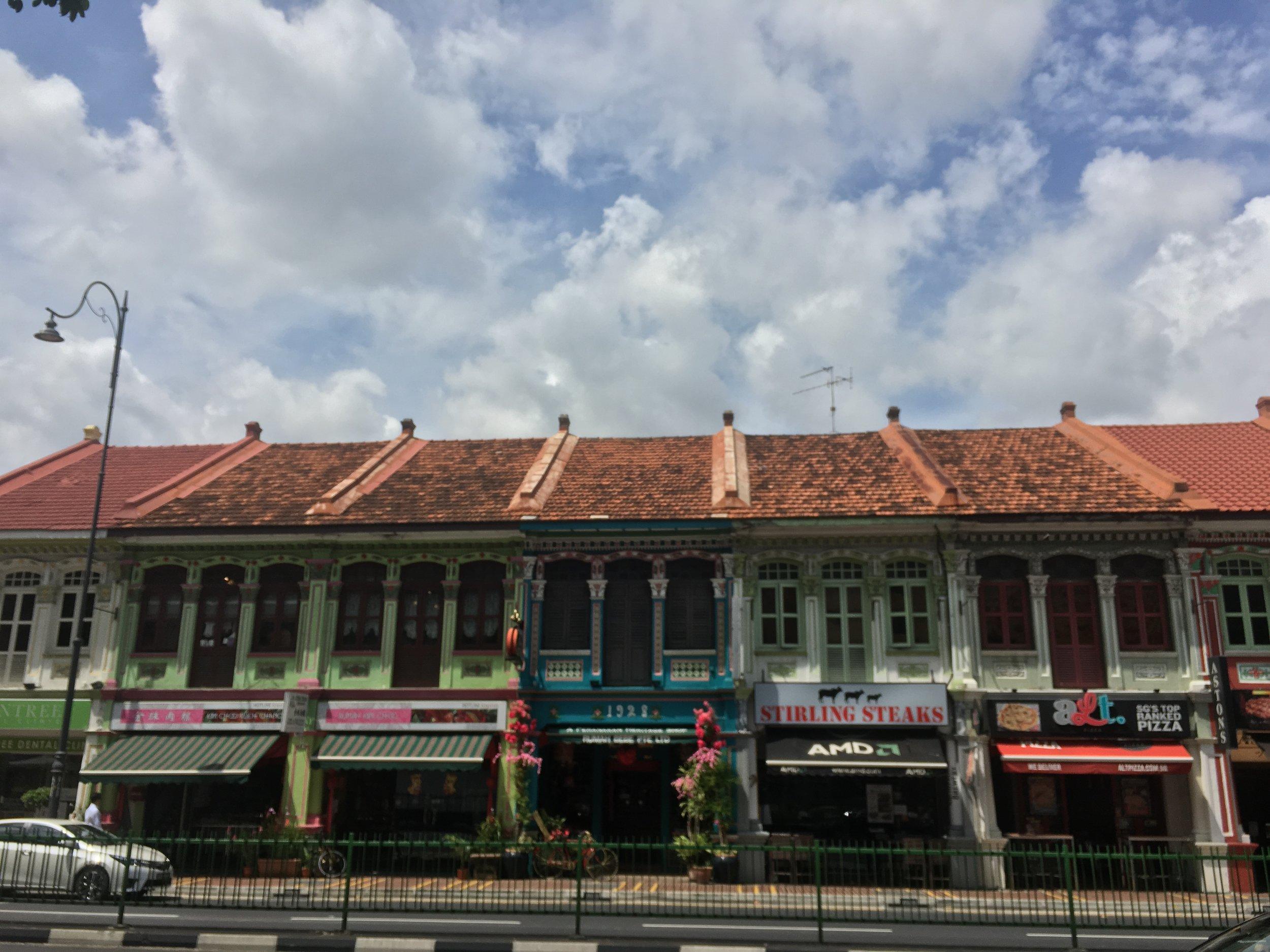 Chinatown facades