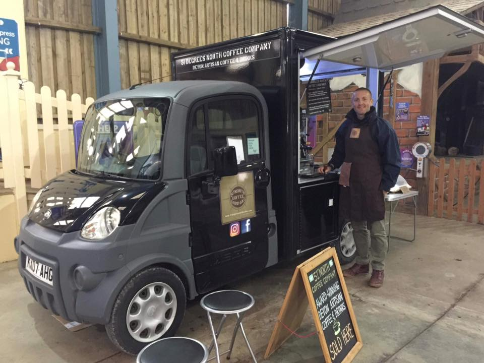 51 degrees coffee cart - plastic free north devon
