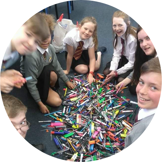 FOCUSED WORKSHOPS - Once a school has created an eco council a member of the PFND team can come to work with that group on a specific area of focus. That could be in-school recycling, reduction of single-use plastics, beach plastic art projects or awareness raising film making.These sessions can last between 45 minutes and two hours dependent on your requirements.