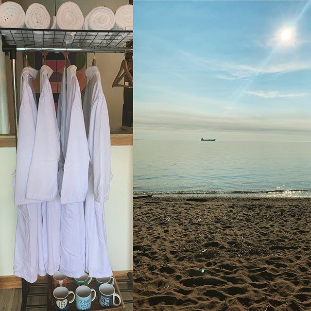 Coming for a visit? Don't forget your suit! We are now offering guests a true, blue opportunity to experience Lake Superior like (most of you have) never before. Every Saturday & Sunday morning through September, join us for a revitalizing #LakeJump. We will depart for Park Point at 10am sharp, take the plunge, and sip some glorious @duluthcoffee on the beach, before returning to the hostel for a (optional) sauna to take that deep chill off. Transport, robes, and towels provided. #DuluthBucketList  #DuluthLikeaLocal #FindYourSisu #extremes #taketheplunge #notfortheweak #feelthechill