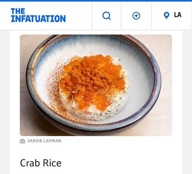 Crab Rice // @infatuation_la @meetjakob