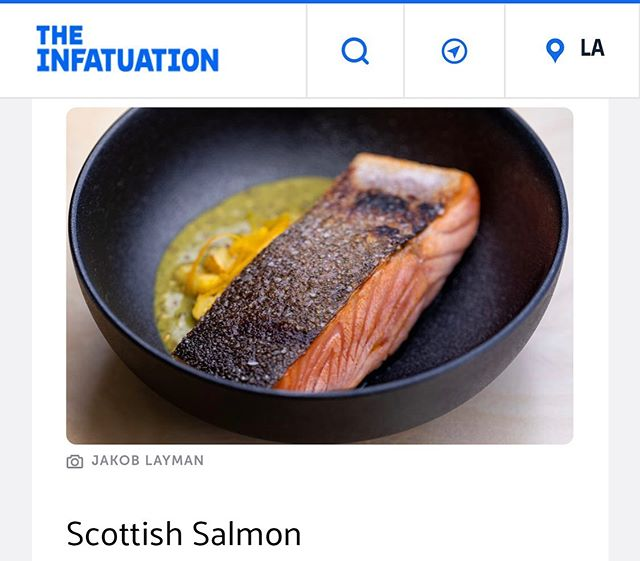 Scottish Salmon // @infatuation_la @meetjakob