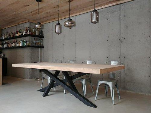 Table en Chêne Blanc