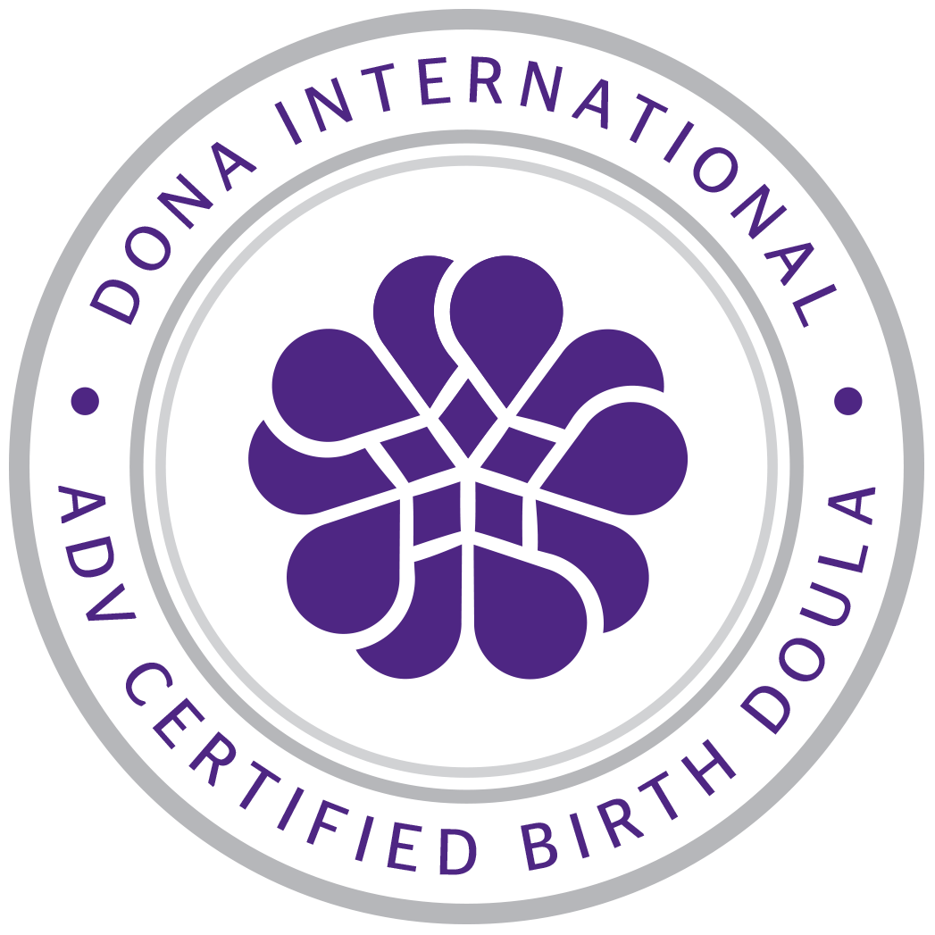 Advanced Certified Birth Doula - In 2015, Sunday Tortelli was among the first group of certified doulas to be awarded the prestigious DONA International Advanced Certified Birth Doula designation, indicating that she is highly-skilled and dedicated and has made major contributions to DONA International, to the doula profession, and in the maternal-child field.