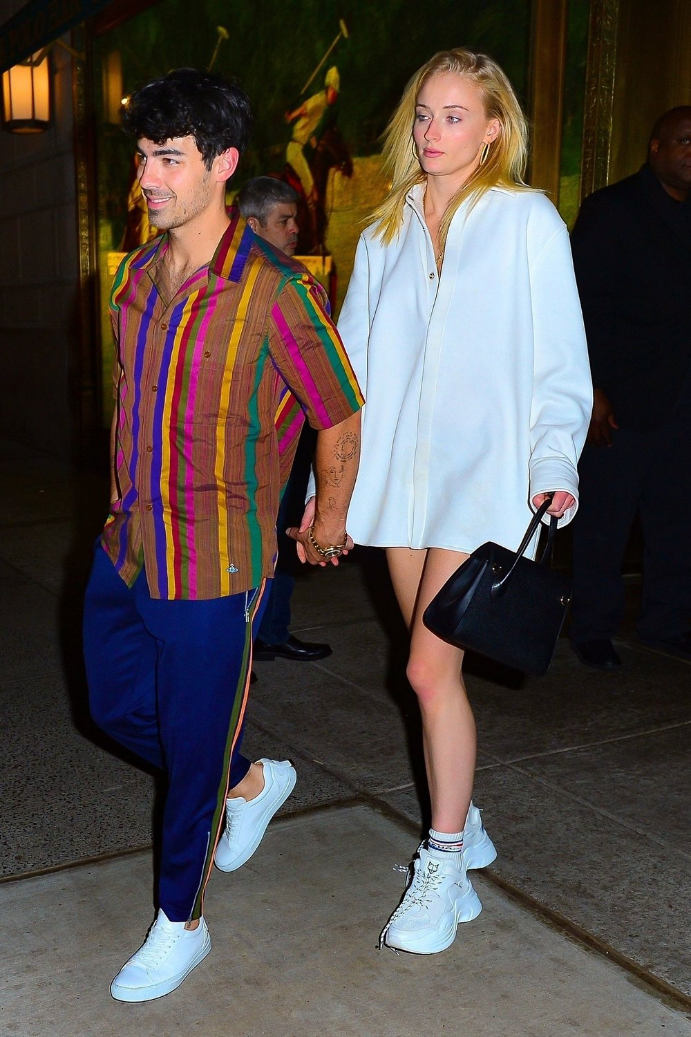 sophie-turner-polo-bar-naked-wolf-sneakers