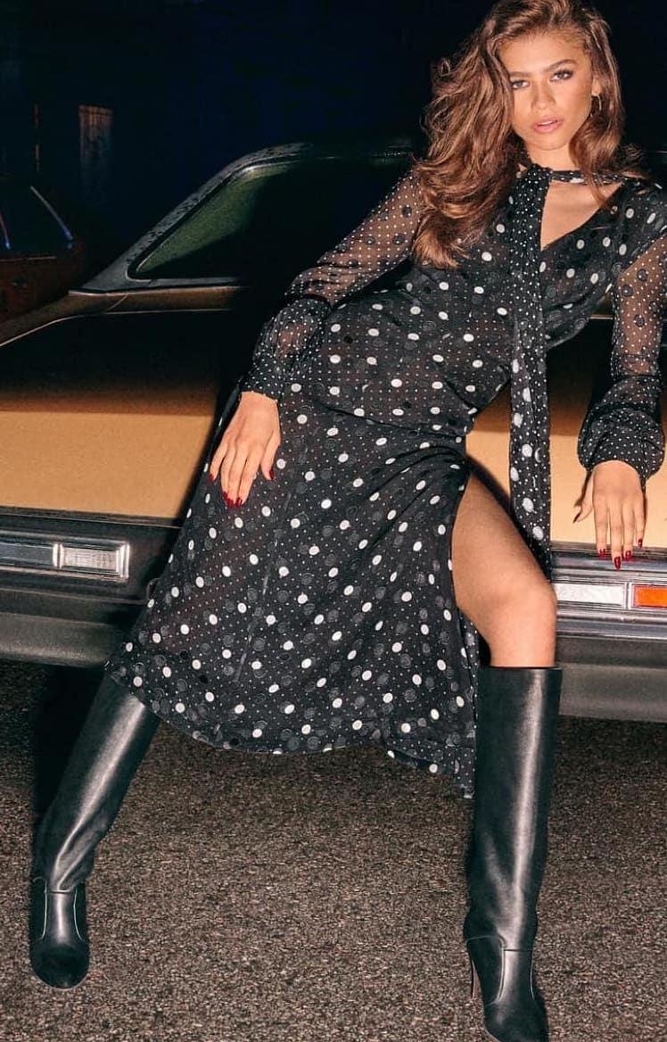 zendaya-tommy-hilfiger-black-polka-dot-dress.jpg