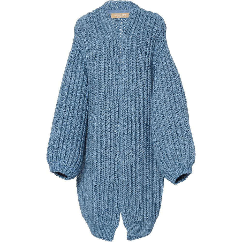 Michael Kors Collection Oversized Alpaca-Cotton Cardigan