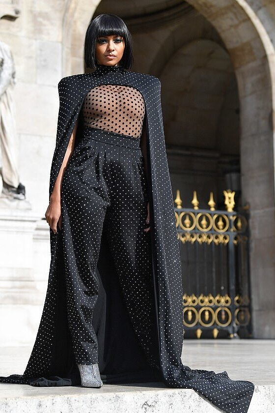kat-graham-balmain-black-embellished-cape.jpg