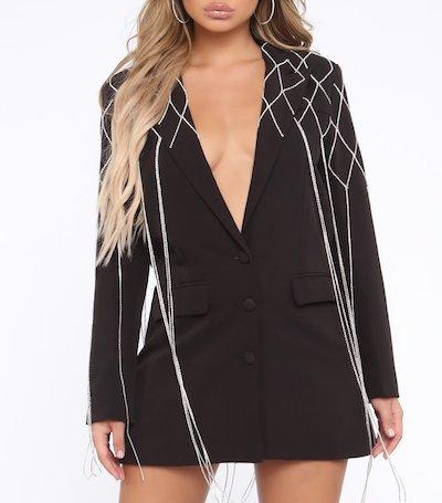 Fashion Nova - Business Mode Mini Blazer Dress
