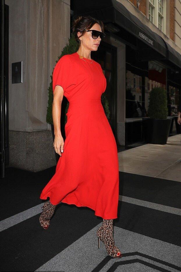 victoria-beckham-red-midi-dress-leopard-print-boots.jpg