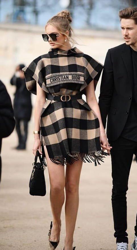 romee-strijd-christian-dior-plaid scarf-dress.jpg