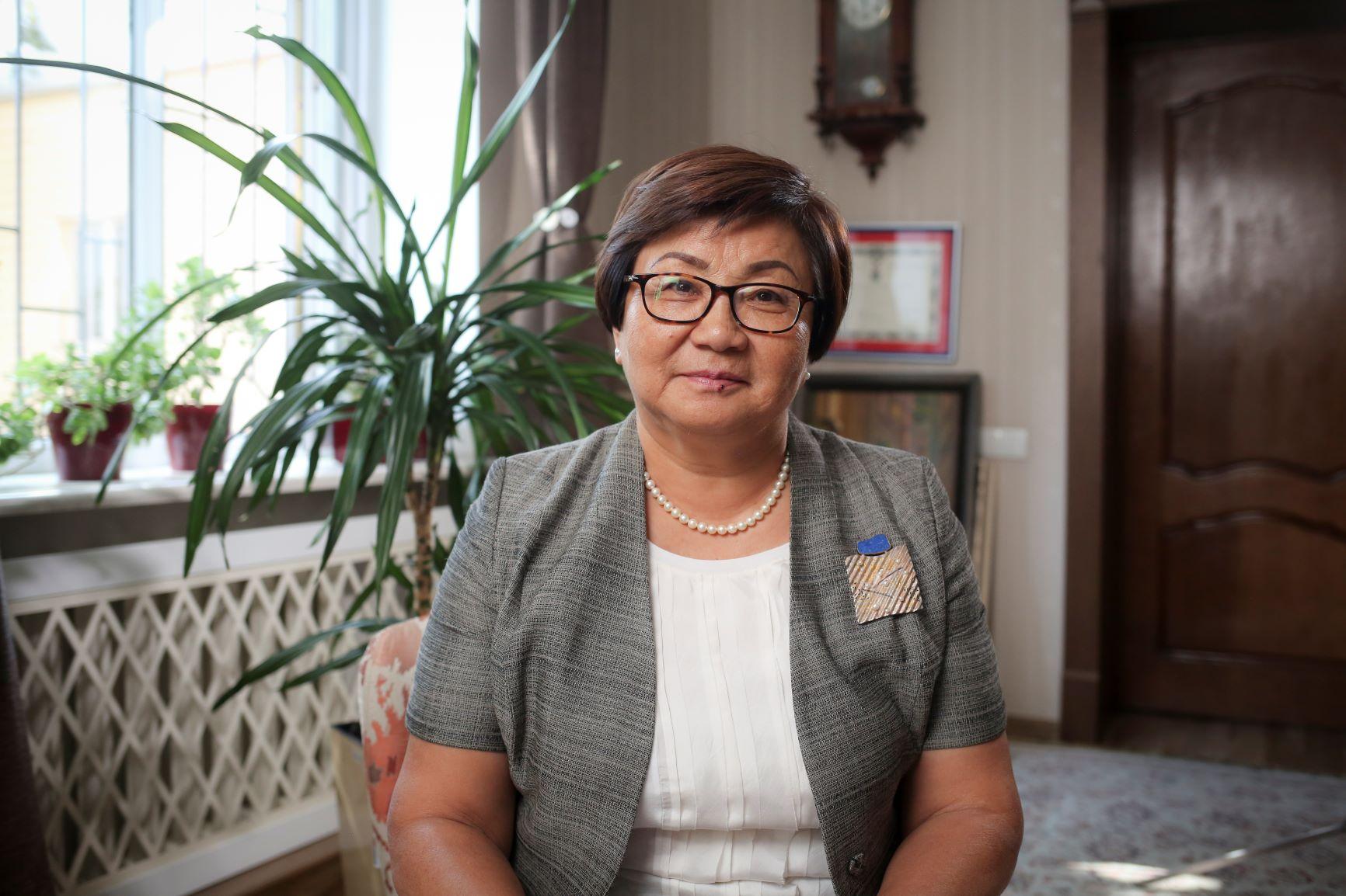 President Roza Isakovna Otunbayeva - Former President of Kyrgyzstan (2010-2011) and 2018 Common Ground Awardee