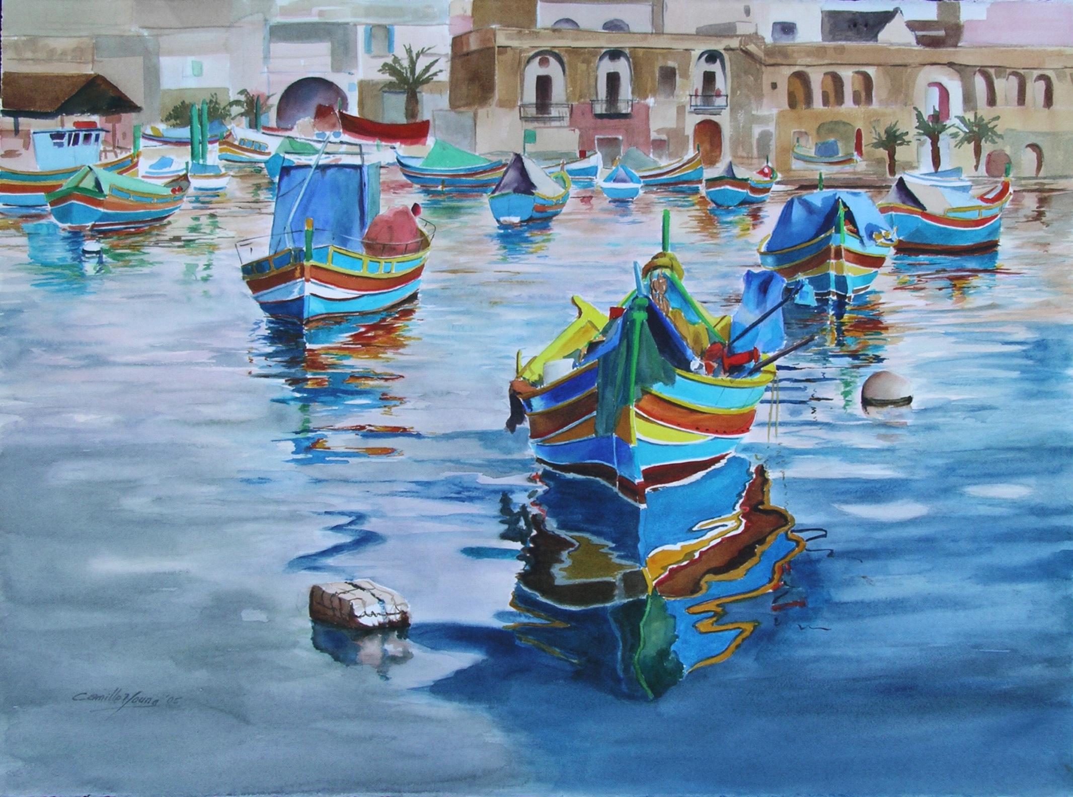 Maltese Fishing Boats   More Info →
