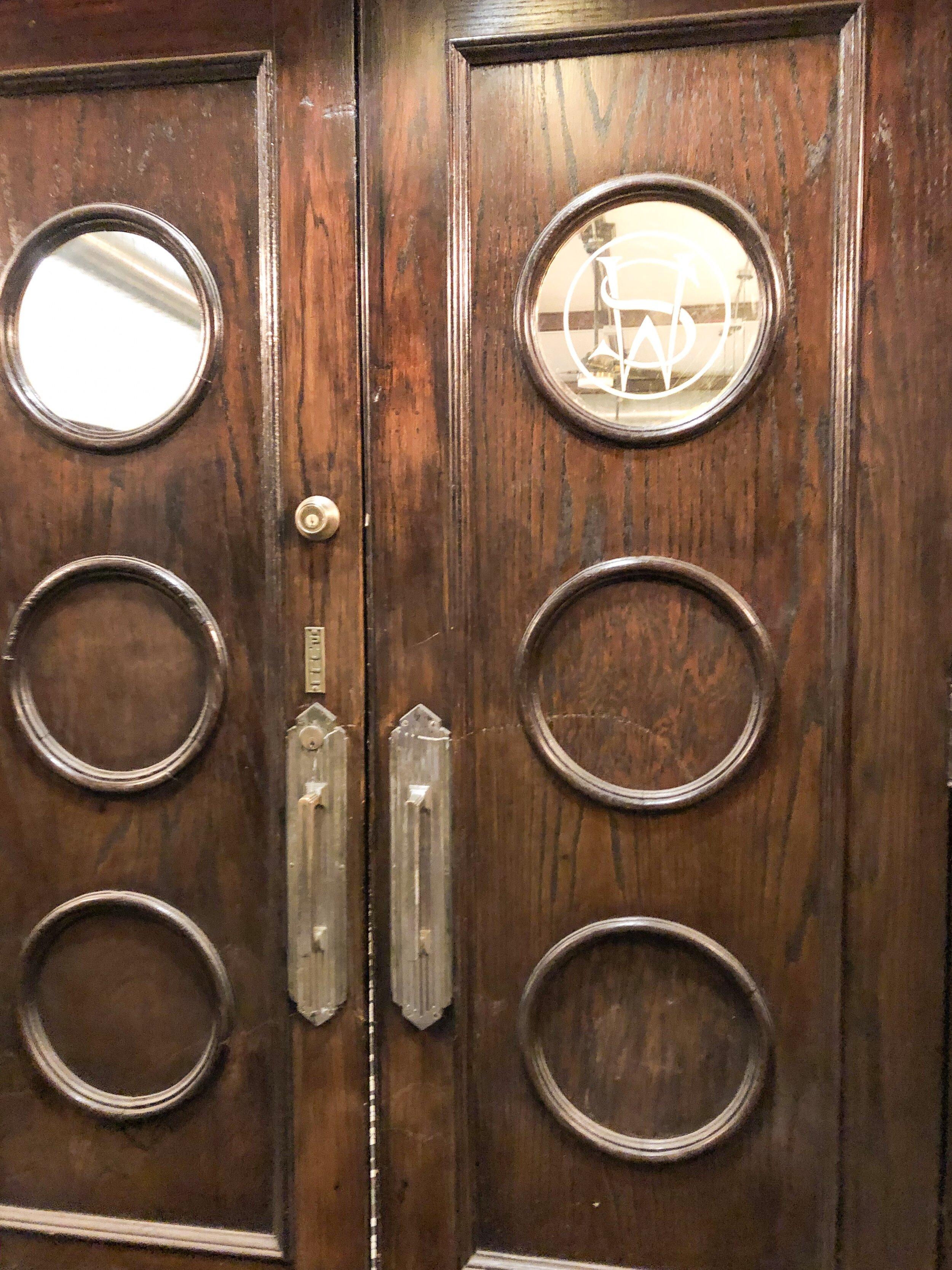 Doors from the original bar!
