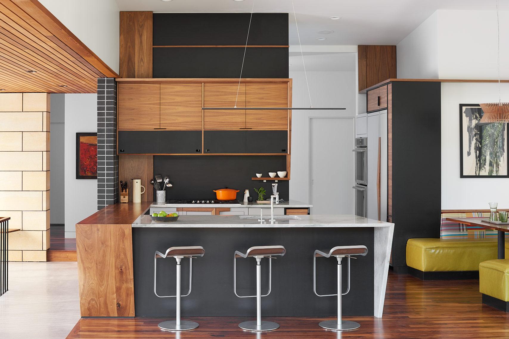 Kitchen design collaboration with Strand Design.