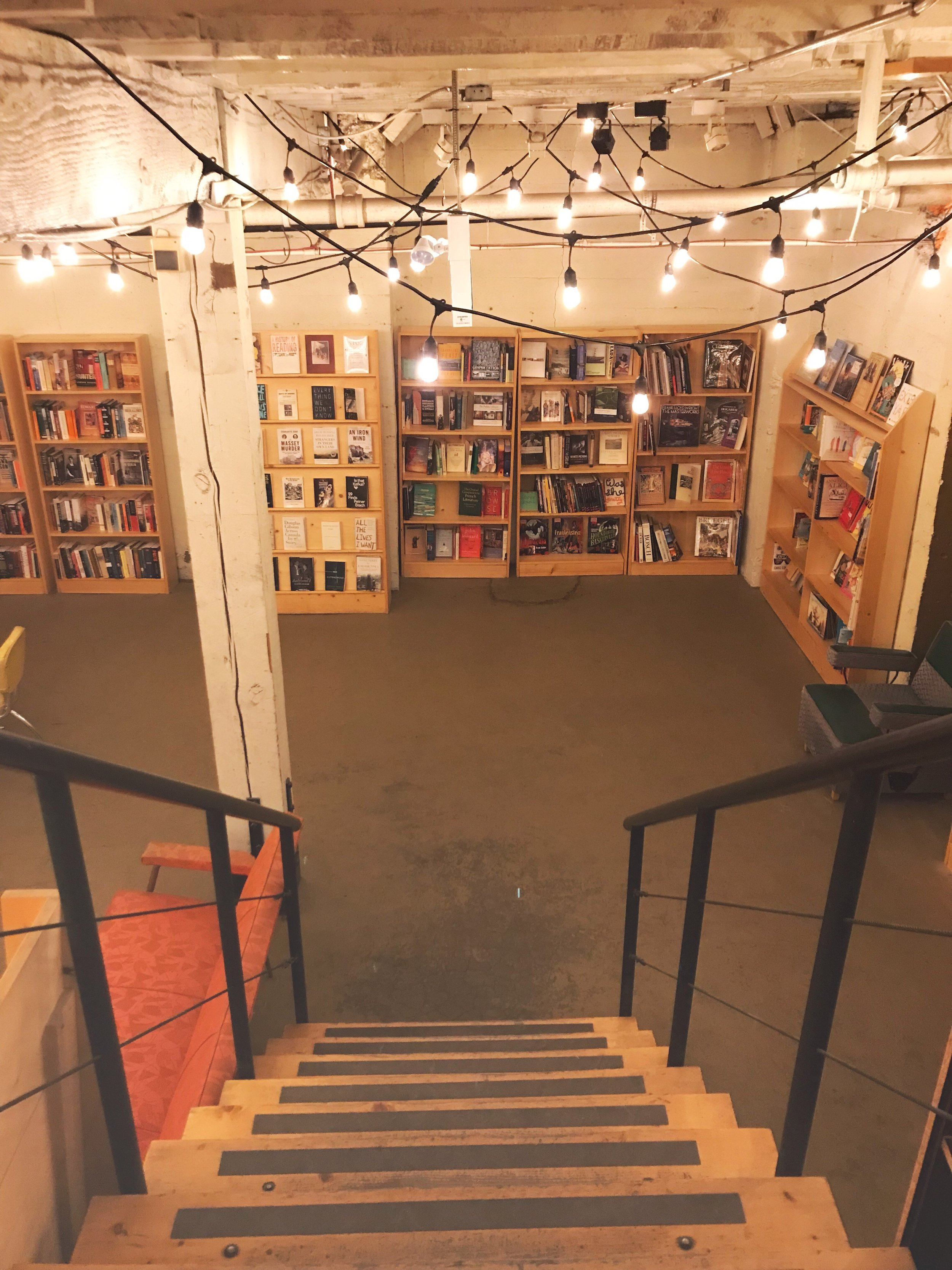 Used books can be found in our basement.