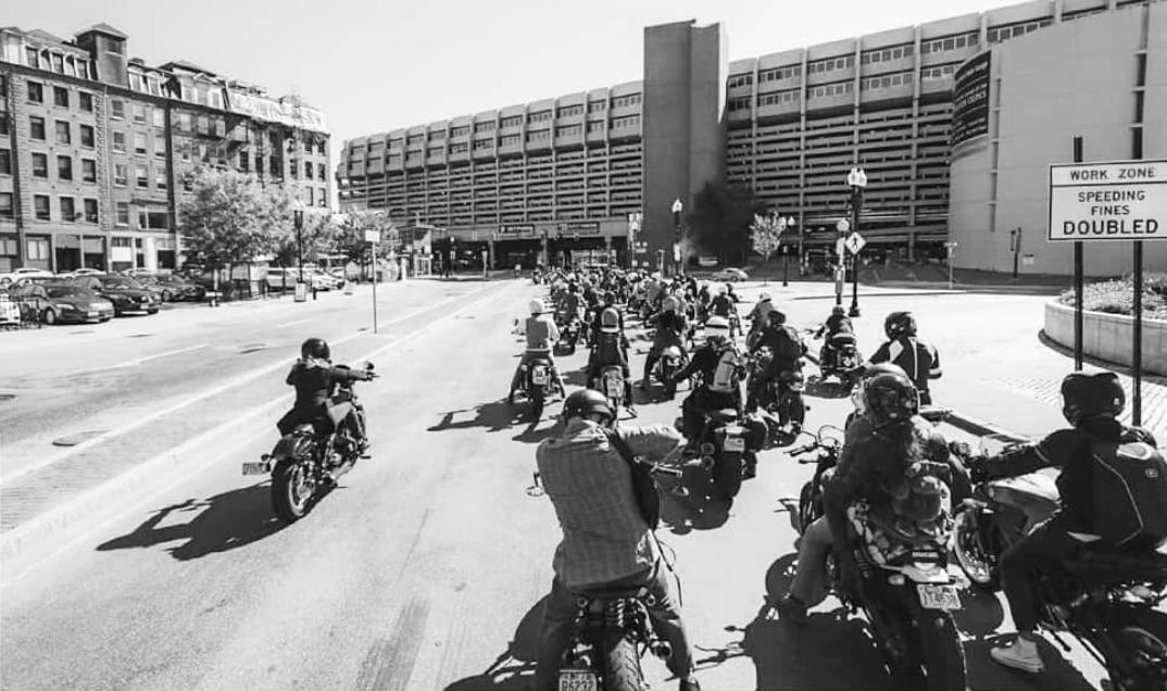 B3 does Boston's Distinguished Gentleman's Ride