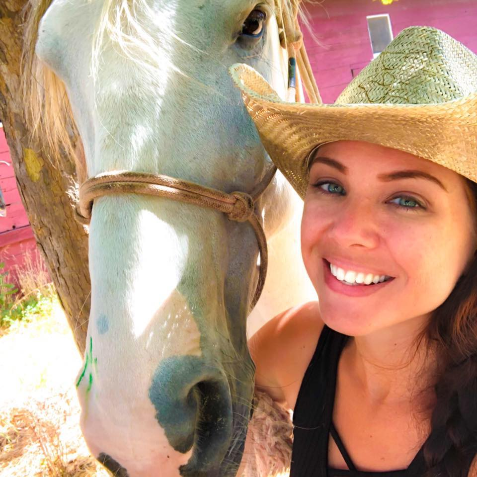 Chelle - Rachelle Reome is a United States Air Force veteran who served 8 years on active duty with 2 tours overseas, and has been volunteering with Trail Brothers almost since the beginning. She's had a love for horses her entire life, rode some in high school, but joined the military at 17 and didn't have another opportunity to be around them again, other than a few trail rides here and there, until now.She spends her days off at the ranch helping care for the horses, learning how to train horses, taking lessons, and looking forward to being a part of the program they are starting for fellow veterans!If you see her on the ranch don't forget to THANK HER FOR HER SERVICE!