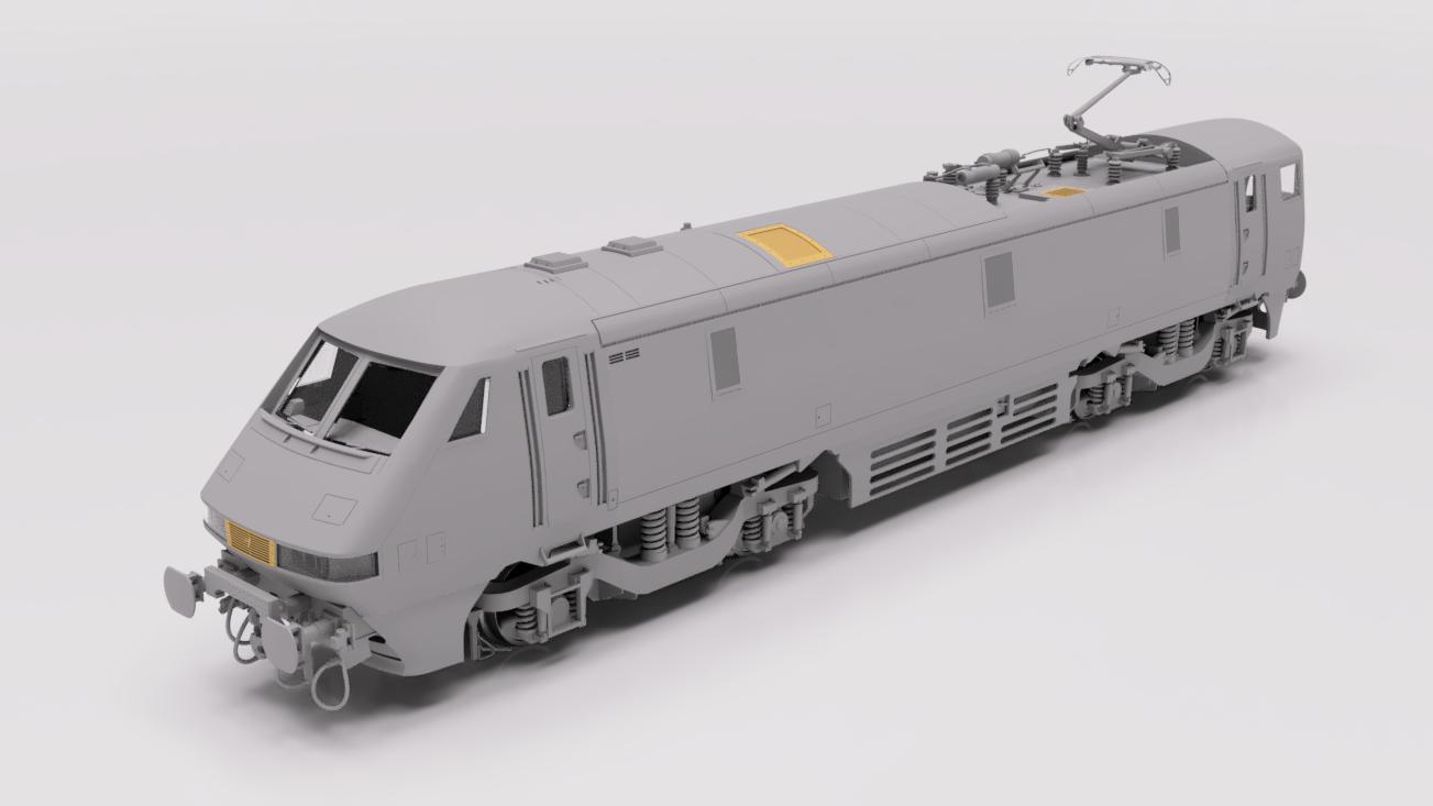 Cavalex Class 91/0 render