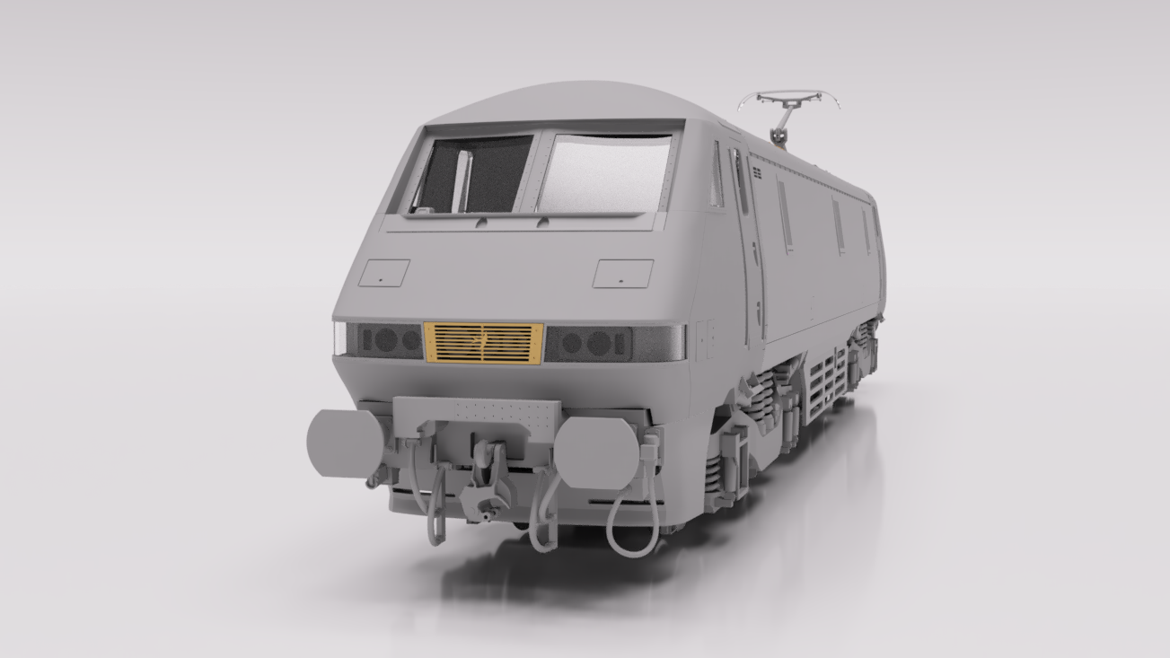 Cavalex Models' Class 91/0 render