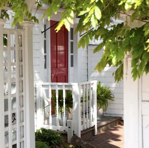 Door to Eben House