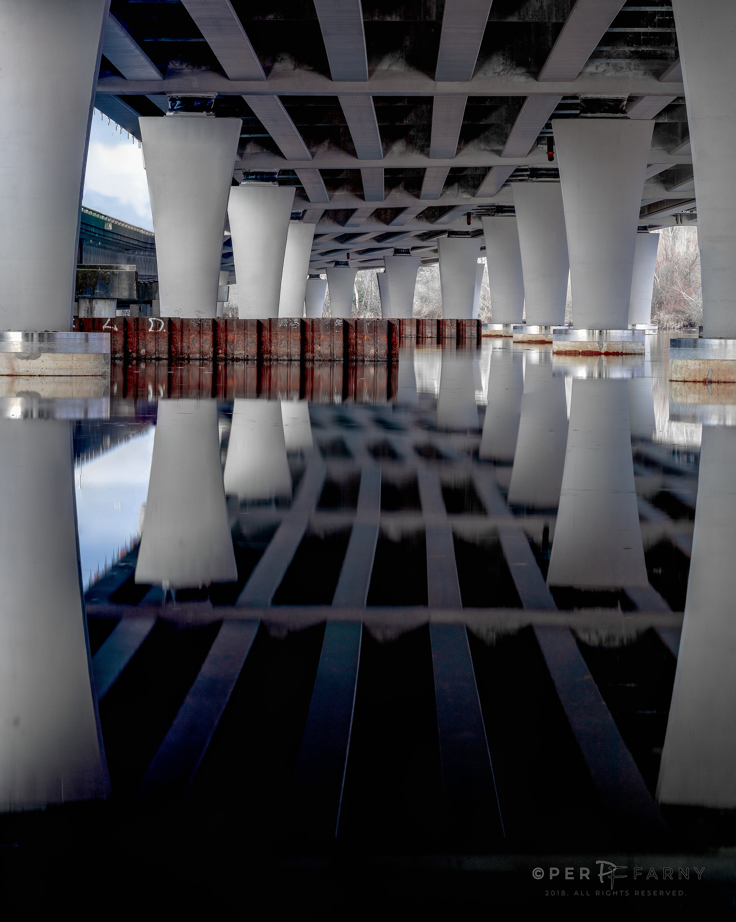 REFLECTIONS UNDER A BRIDGE || LIMITED EDITION PRINT