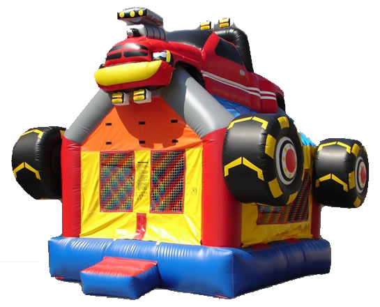 Monster Truck Bounce House - $165.00 ALL DAY RENTAL