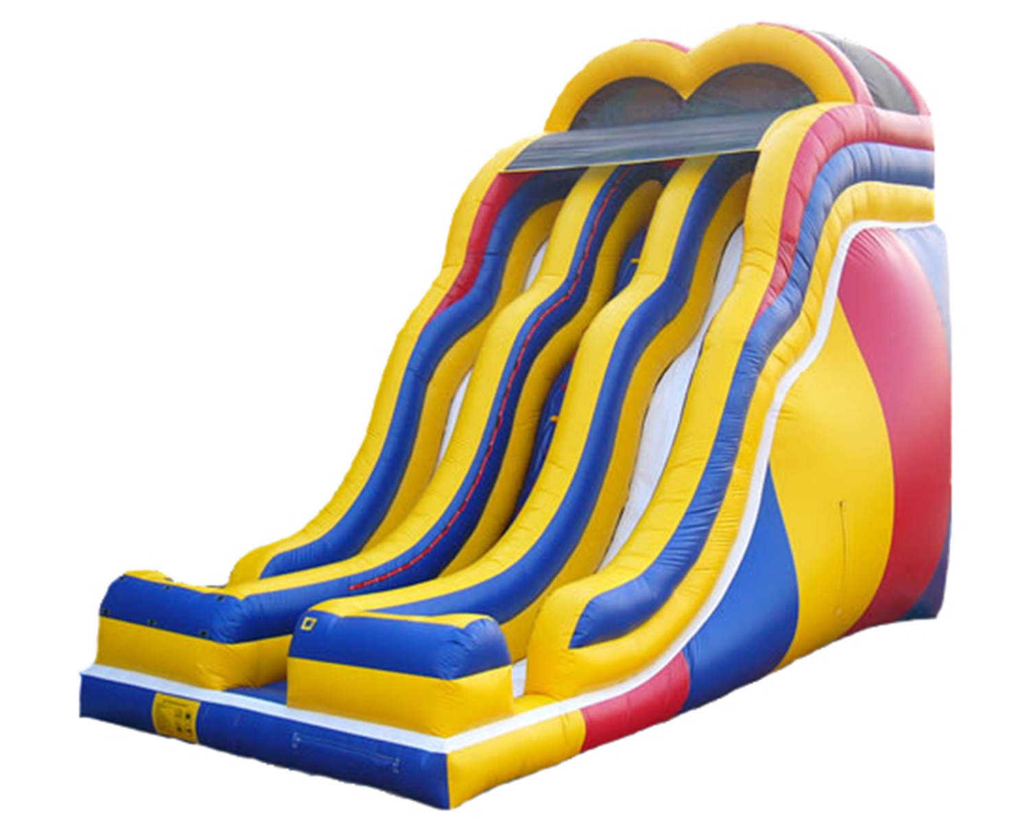 24' Double Lane Double Wave Slide - $595.00 ALL DAY RENTAL