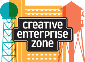 Produced by the Creative Enterprise Zone  info@creativeenterprisezone.org