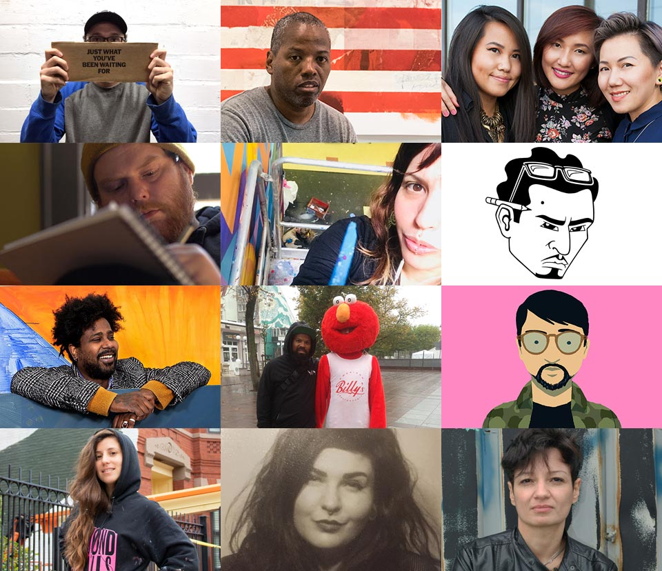 CHROMazone mural artists - Meet the 2019 Chroma Zone mural artists and explore their stories.