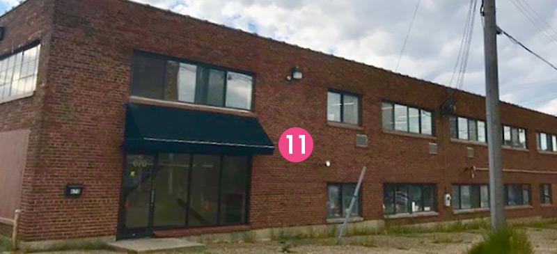 11. Universe buildings - Martzia Thometz at the Universe Buildings, 670 Vandalia Street