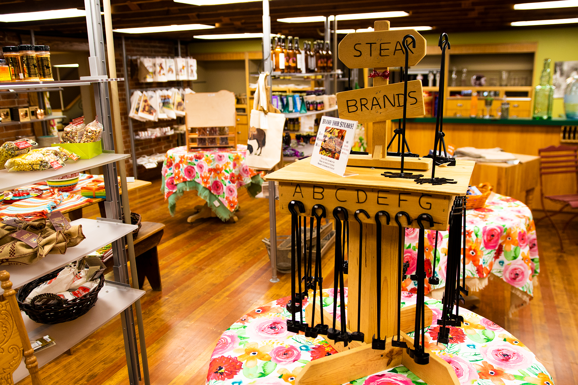 """Uncle Bruno's"" - Explore a fun array of made-in-Wyoming goodies, treats, and home furnishings."