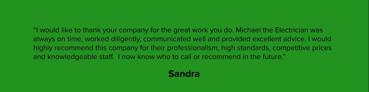 Sandra - Electrician Testimonial.png