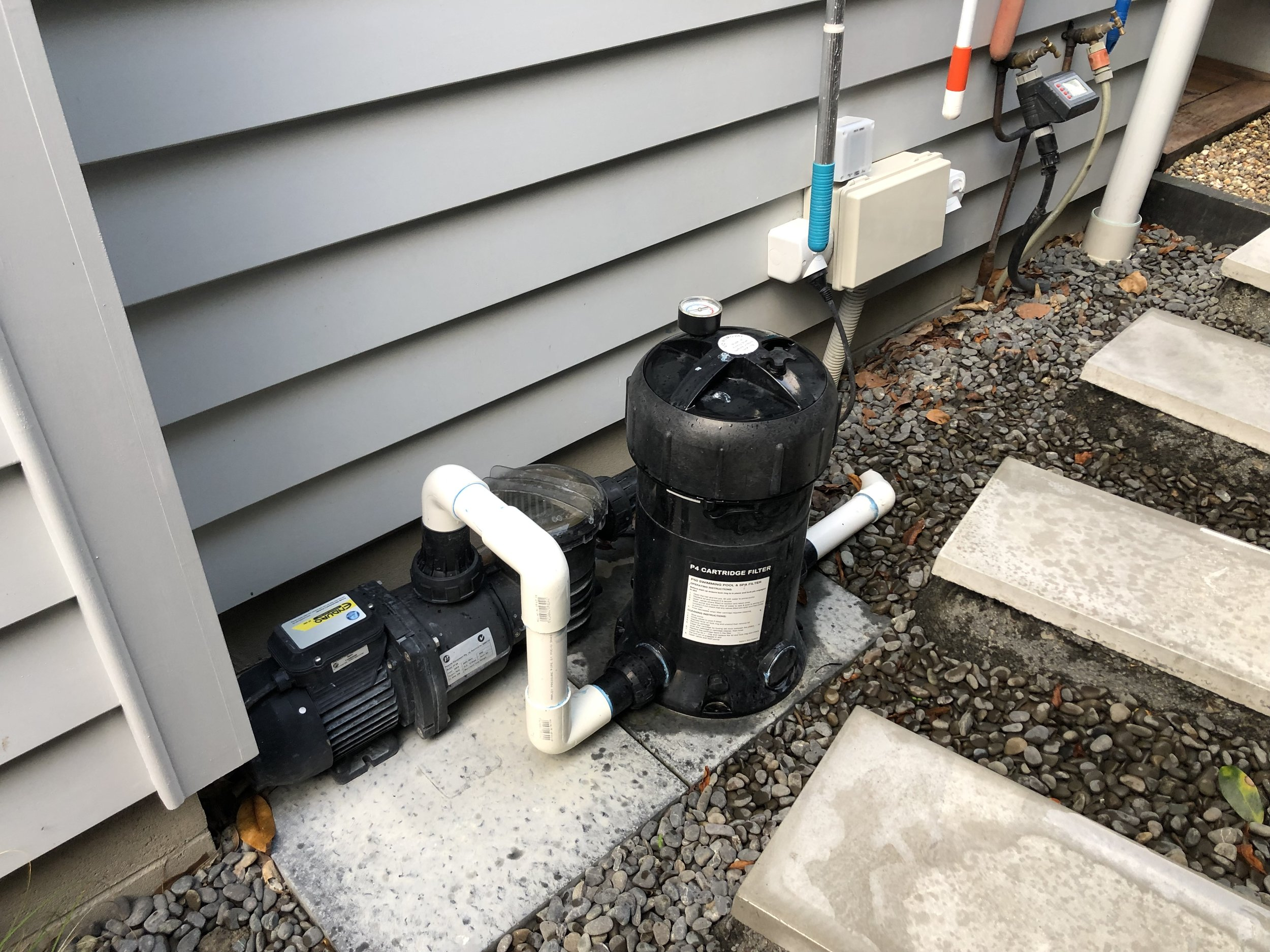 Water Pumps and Filters - supplied and installed