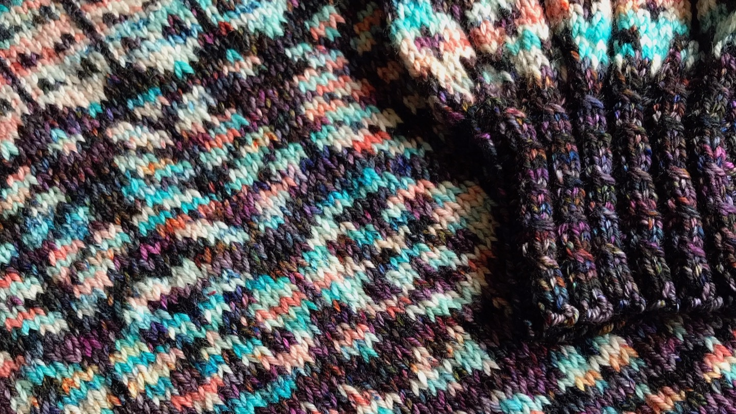 Guthrie Sweater designed by Caitlin Hunter.