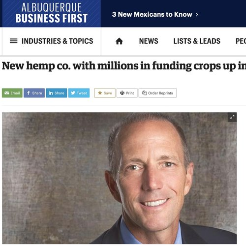 New Hemp co. with millions in funding crops up in Santa Fe -