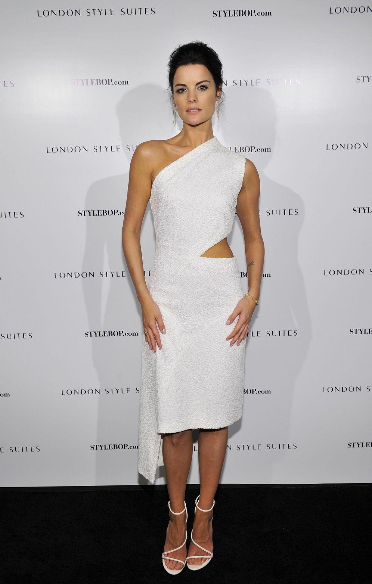 Jaimie Alexander / British Fashion Council Stylebop.com Party