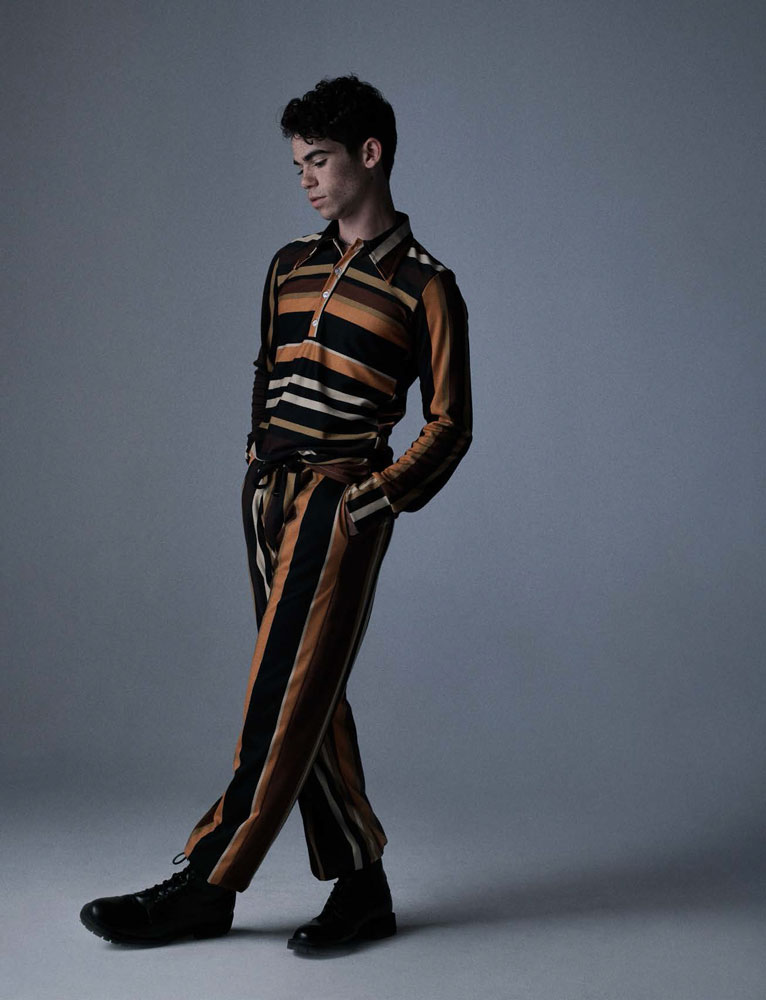 Cameron Boyce / Foxes Magazine / Photographer Ben Cope