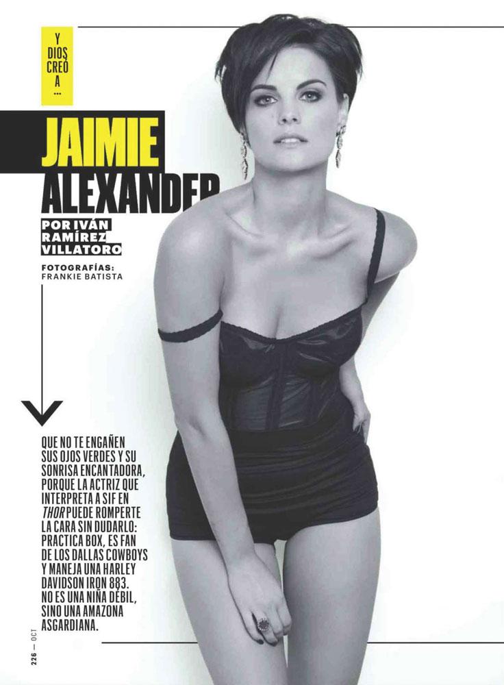 Jaimie Alexander / Esquire Mexico / Photographer Frankie Batista