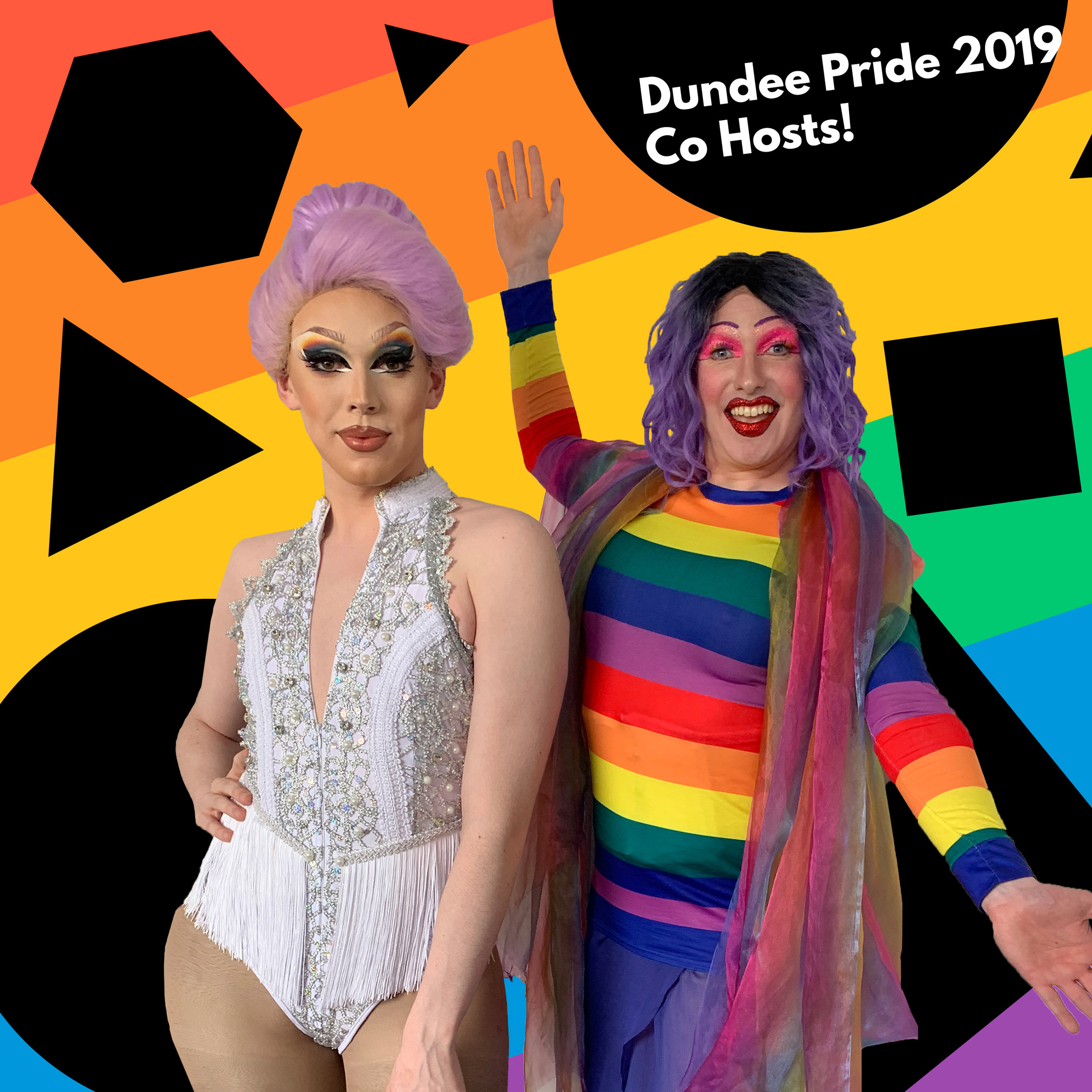 the fabulous Miss Peaches and Buschie Fandango will be your co-hosts for dundee pride 2019. - Hear them talk about their roles at Dundee Pride 2019 in episode 2 of the Dundee Pride podcast with Tay FM here